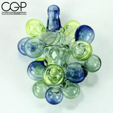 Orian Glass - UV Reactive Unique Sherlock Bubble Pipe