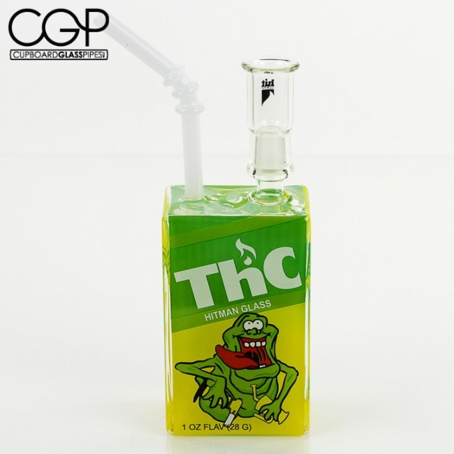 ... Glass / Hitman Glass - ThC Glob Monster Juice Box Concentrate Rig