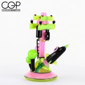 B.M.F.T. - Power Station 'City Series 1' Multi-Color Concentrate Rig 14mm