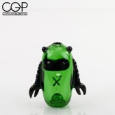 Rone Glass - Flobot Green Hand Pipe