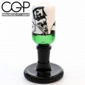 Zach Puchowitz - Green and Black 14mm Slide with Gear Stand
