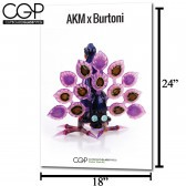 CGP Heady Glass Art Poster - AKM x Burtoni