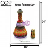 CGP Heady Glass Art Poster - Amani Summerday