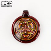 Eusheen Glass - Red Fillacello Pendant