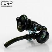 Happa x Sasaki Collaboration - Sherlock Dry Pipe with Opals