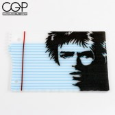 Jamie Burress - Ripped Notebook Paper Dish with David Bowie Graphic