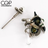 Jesse James - Jesse James x Big Z Nickel-plated Pendant Dabber