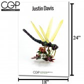 CGP Heady Glass Art Poster - Justin Davis