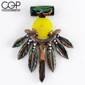Northern Waters x AAA Glass Ancient Coogi Spirits Talisman Pendant