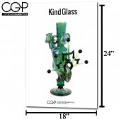 CGP Heady Glass Art Poster - Kind Glass