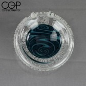 Liberty Glass - Frosted Blue Dish