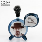 Matt McLamb Glass-Walter White (aka Heisenberg) Concentrate Rig