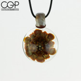 SyCo Glass - Fumed Implosions Pendant