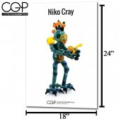 CGP Heady Glass Art Poster - Niko Cray