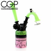 Zach Puchowitz - Pink and Slyme 'Sketch Series' Concentrate Rig