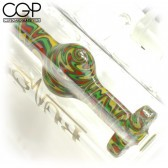 Pulse Glass - Wig-Wag Ashcatcher Water Pipe