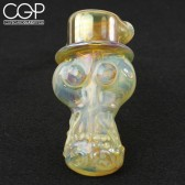 Travis Wigger - Fumed Skull Bubbler