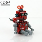 Torchress - Red Elvis 10mm MiniBot with Matching Dabber